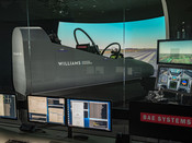 Williams are also applying their expertise to the development of future cockpit designs.  This photo is taken at BAE Systems Air Labs facility in Warton, Lancashire